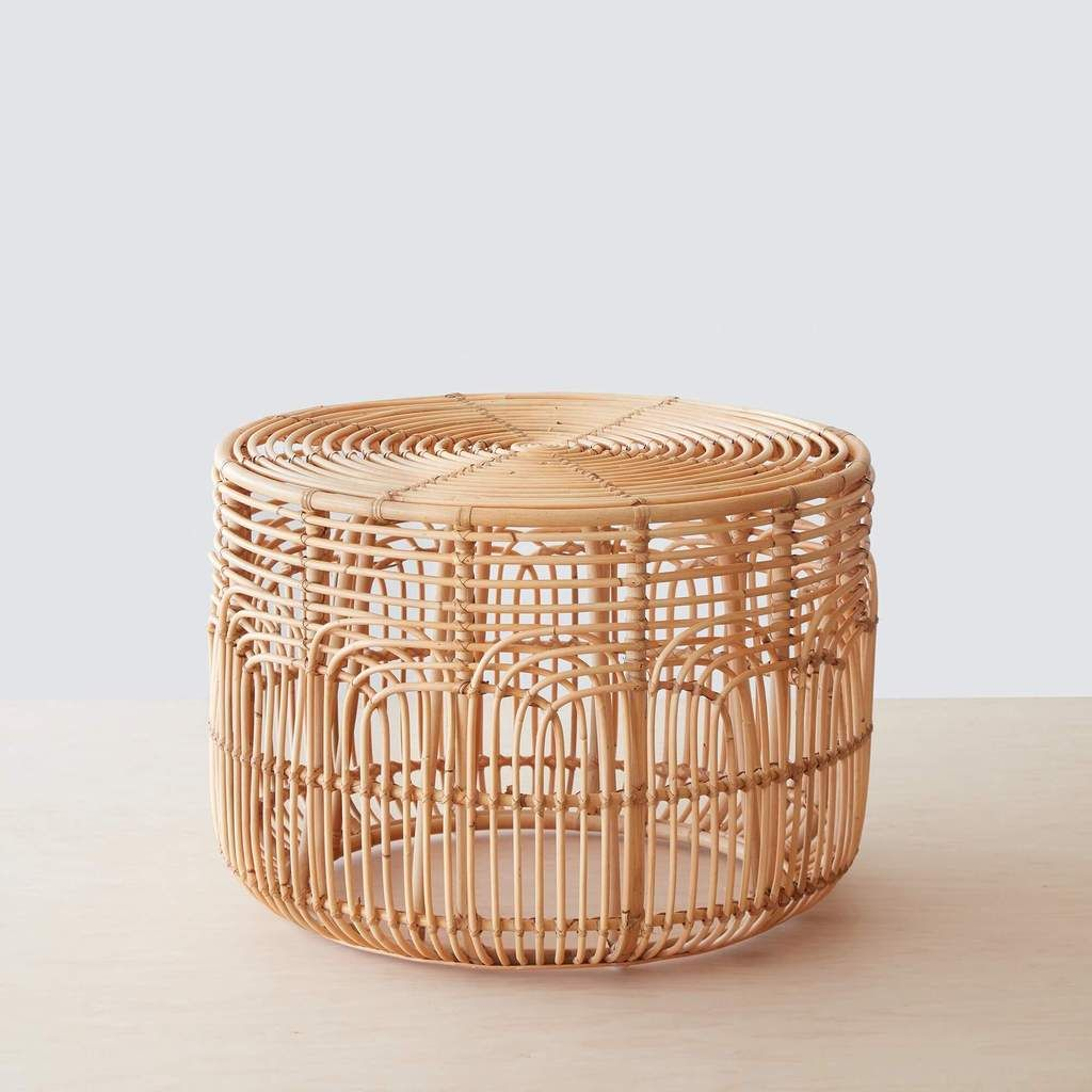 rattan side tables living room country interior design naga table in 2019 furniture accent dreaming i wouldn t pay this but it s beautiful modern handwoven indonesia the citizenry
