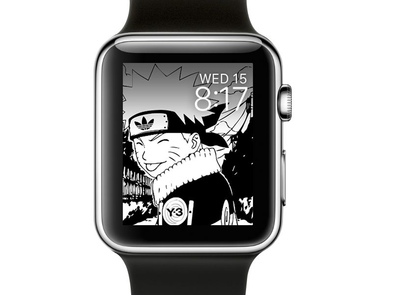 Naruto Fanzine Apple Watch Faces Apple Watch Watch Faces