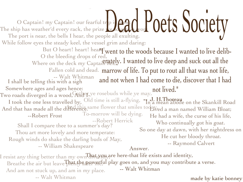 Poet Quotes Quotes Dead Poets Society Life  Quotes  Pinterest  Dead Poets