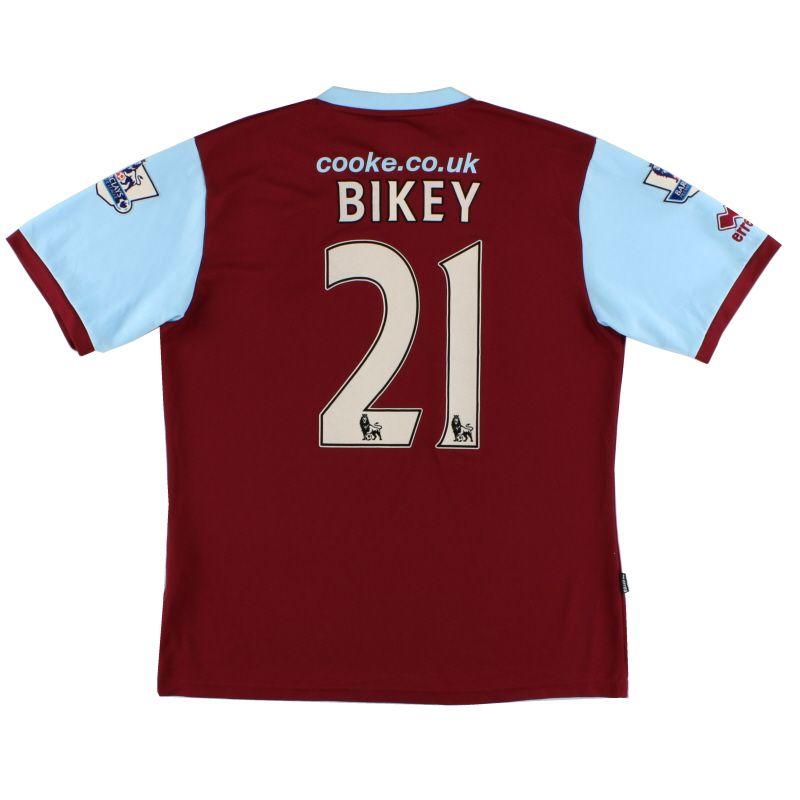 2009-10 Burnley Errea Home Shirt Bikey  21 XL