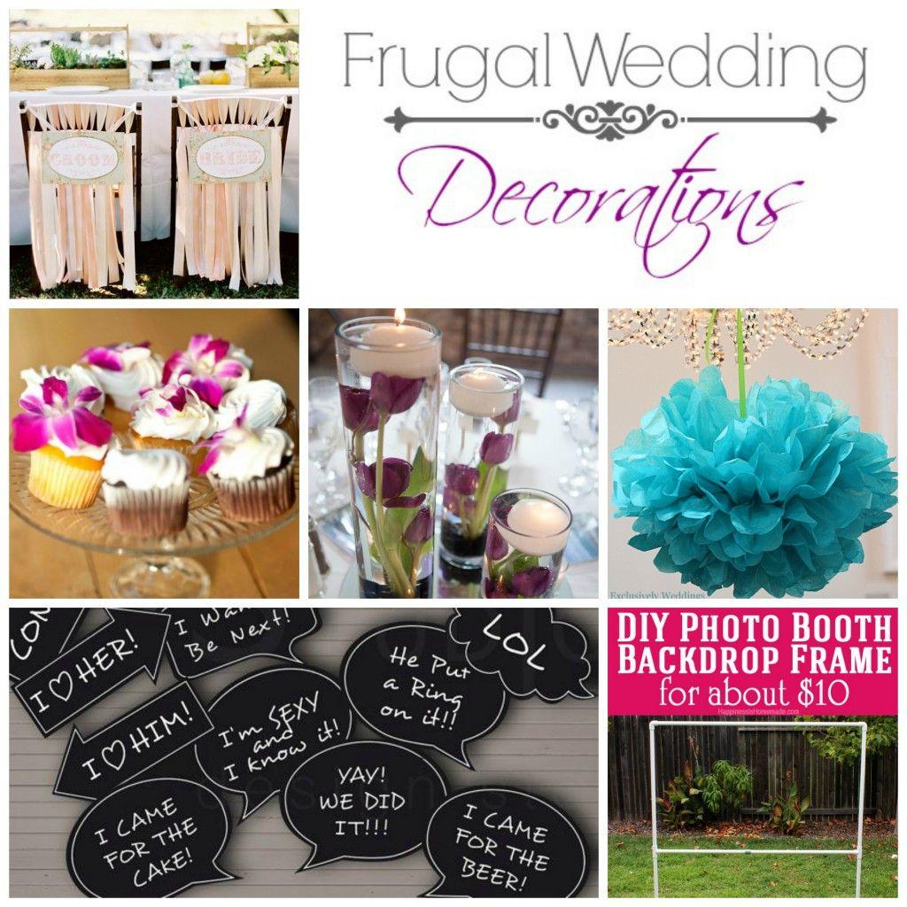 10 Frugal Wedding Decoration Ideas [ PropFunds.com ]