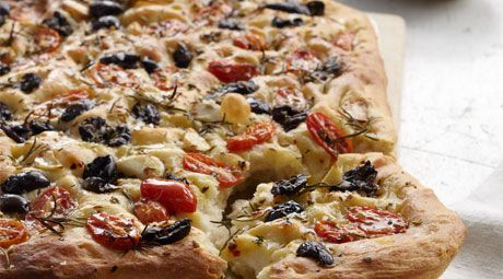 Focaccia By Chef Curtis Stone Coles Recipe Cooking Recipes Recipes