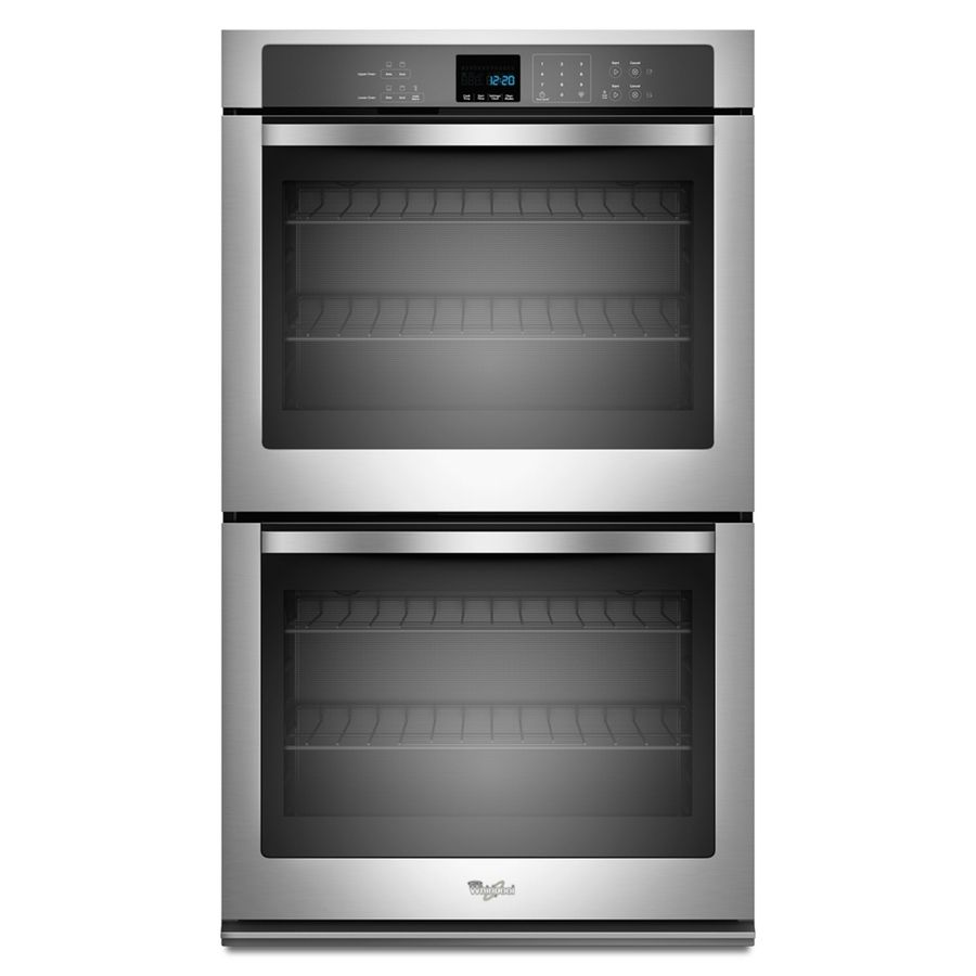Shop whirlpool 30in selfcleaning double electric wall