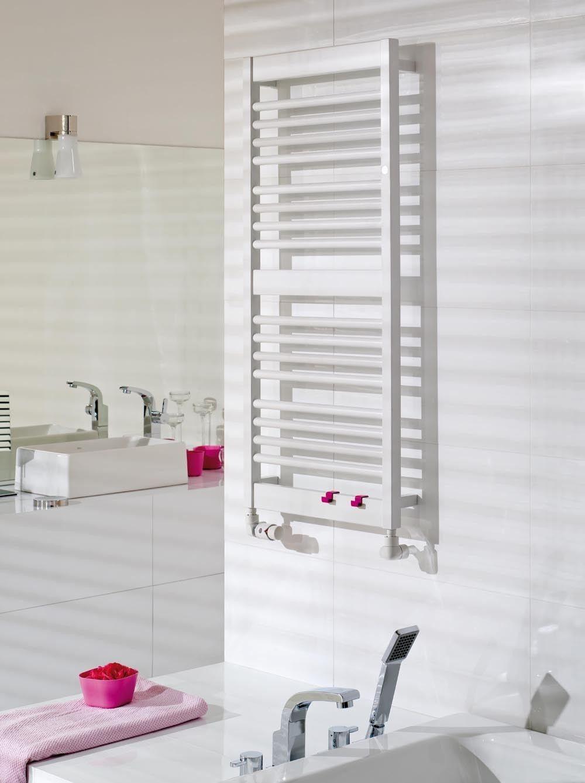 grzejnik łazienkowy frame 50110 biaŁy  bathroom towel