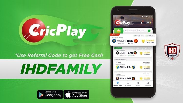 CricPlay Referral Code CricPlay is another fantasy