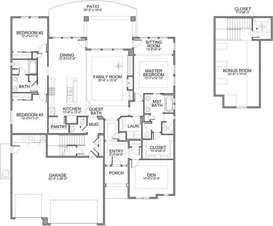 Builder In Boise Idaho Brighton Homes Offers Home Ers The Ious Belmont Floor Plan To Build Their Dream