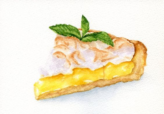 Pin By Shruthi Nayak On Food Illustrations Watercolor Food Food Desserts Drawing