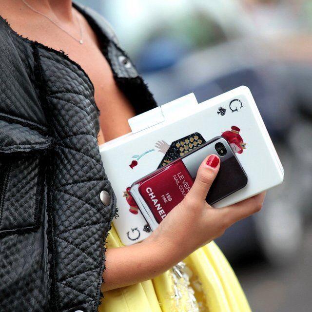 Chanel nail polish iphone case   Gadget Freak   Pinterest   Fire ...