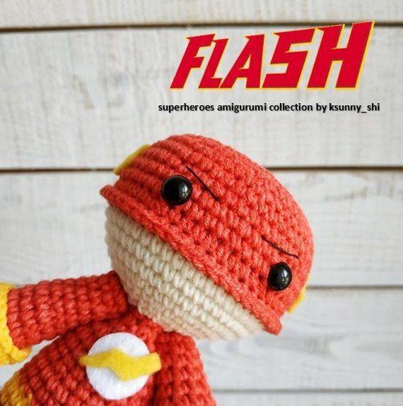 The Flash Crochet amigurumi pattern PDF Handmade ...