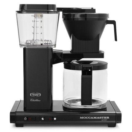 Technivorm Moccamaster Coffee Maker With Glass Carafe, Polished Silver | Sur  La Table. Espresso MachineEspresso ...
