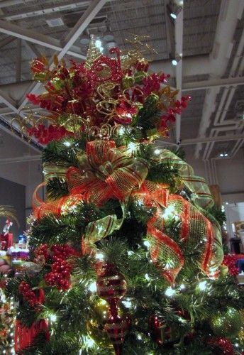 Christmas Tree Topper Inspiration From The Akron Festival