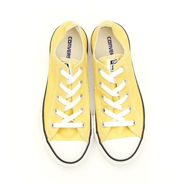 Yellow converse, Shoes