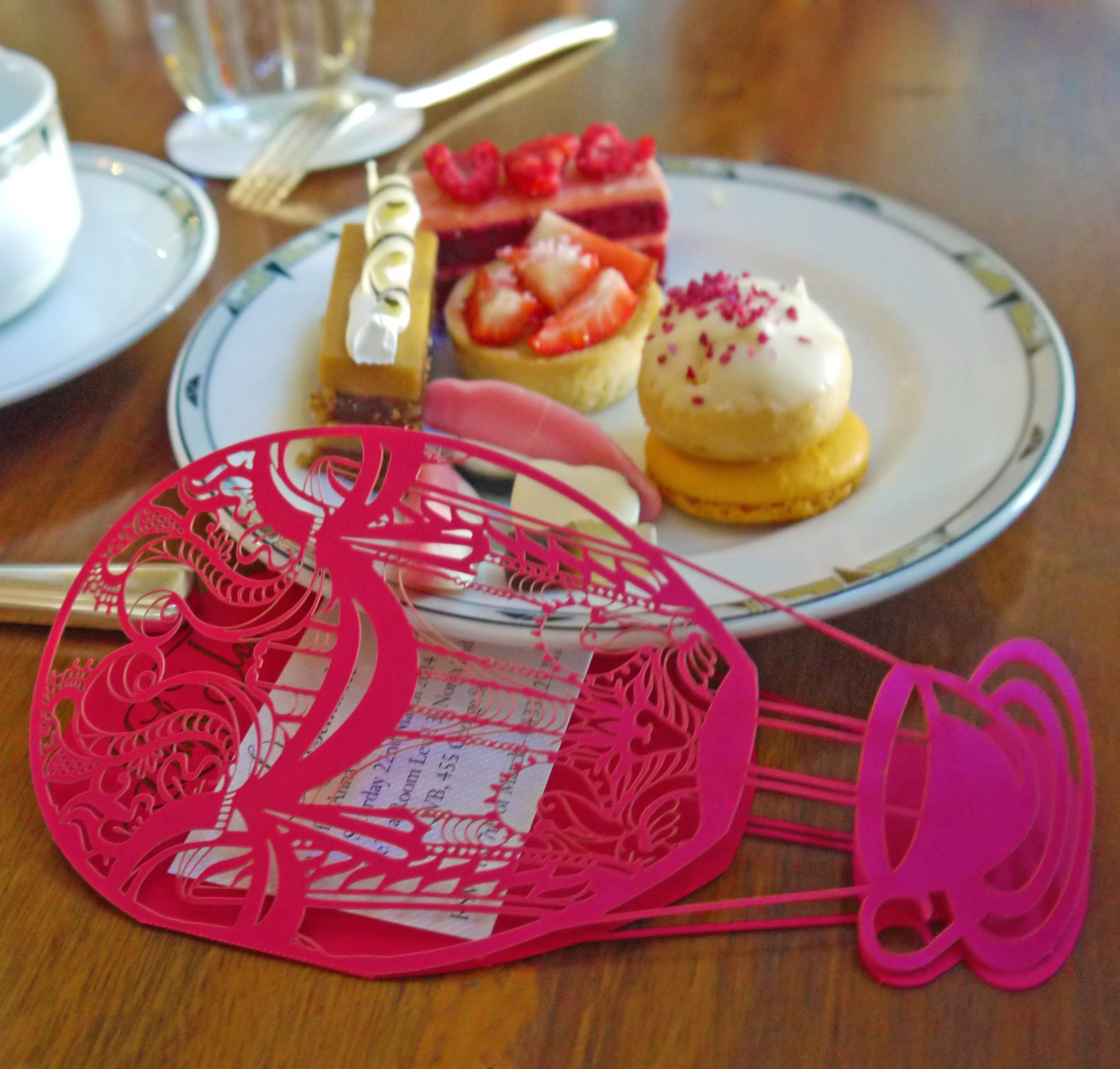Sydney laser cut cut high tea invitation | Laser Cut Invitations ...