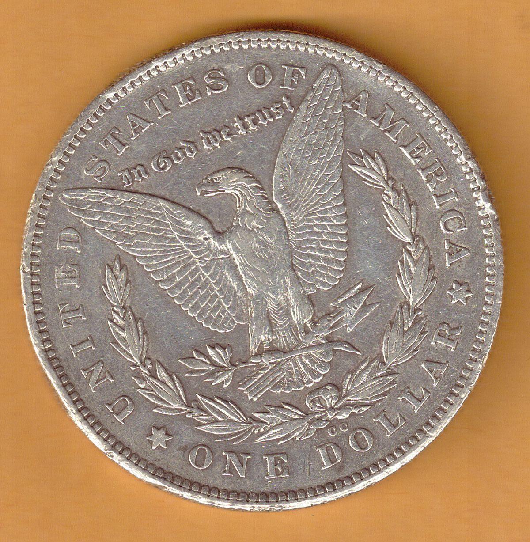 1878-CC, Morgan Silver Dollar Coin