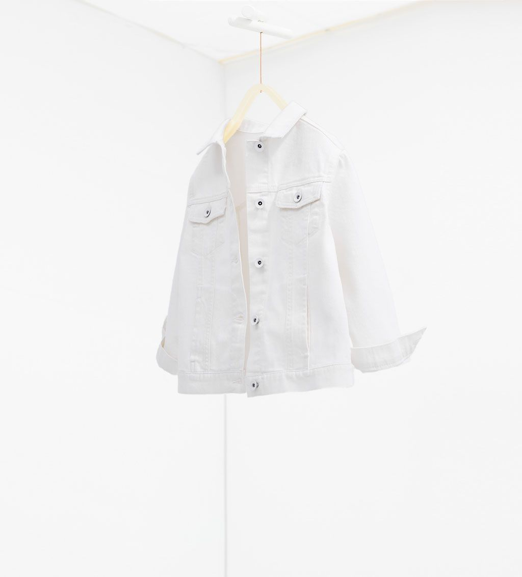 Image 1 of Twill jacket from Zara