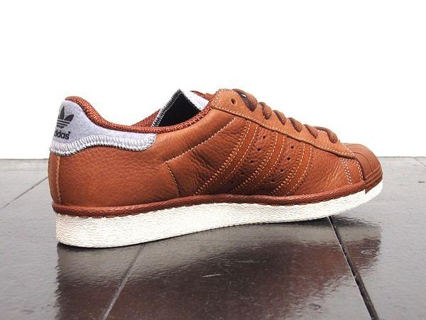 Adidas Superstar 80's Dust Rust (2) Adidas superstar homme  Adidas superstar mens