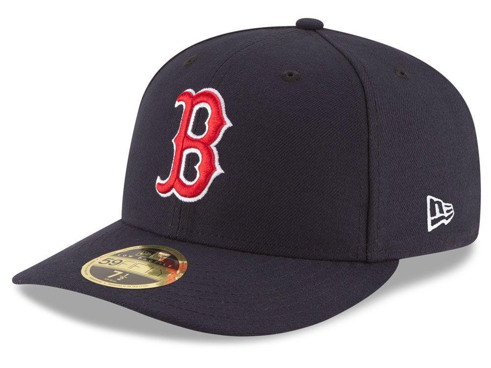 Boston red sox new era mlb low profile ac performance
