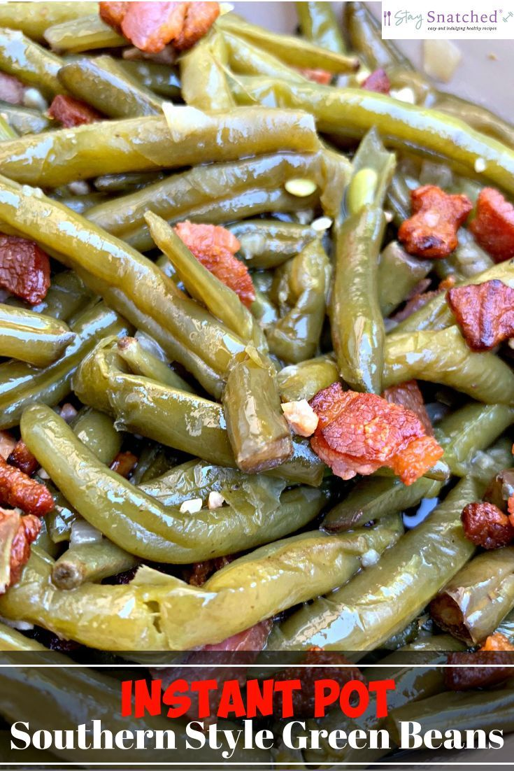 Easy Instant Pot Southern-Style Green Beans + {VID