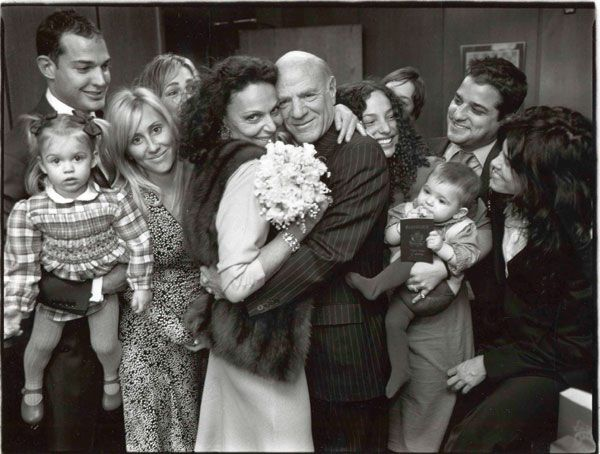 100 Memorable Celebrity Wedding Moments Barry Diller And Weddings