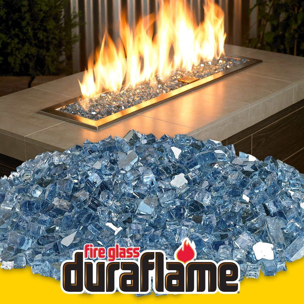 Get 1 4 Pacific Blue Reflective Duraflame Fire Glass For Fire Pits And Fireplaces Fire Glass Fireplace Fire Pit Glass Rocks Fire Glass Glass rocks for fire pit