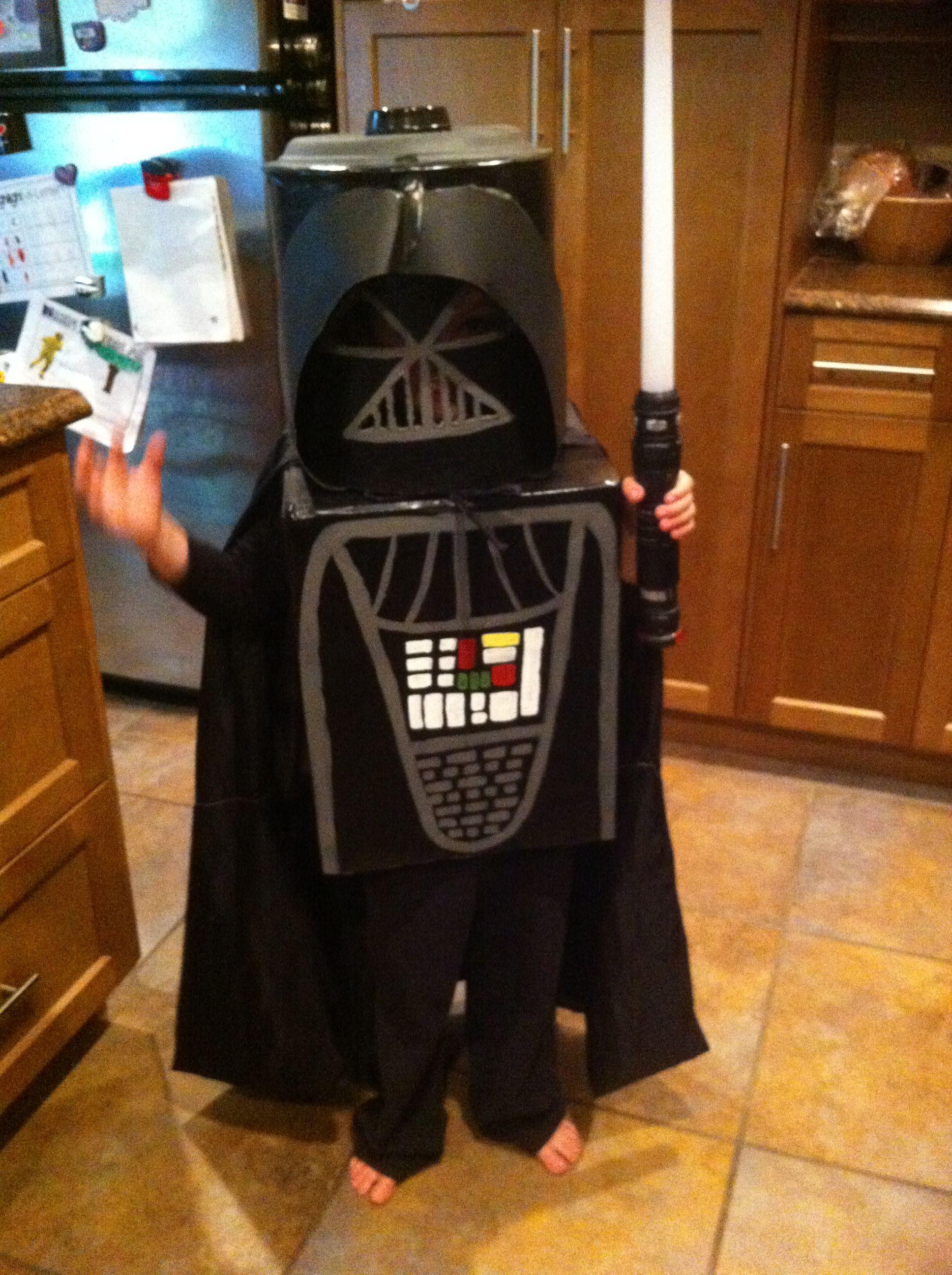 Lego Darth Vader costume & Lego Darth Vader costume | Estharwars | Pinterest | Darth vader ...