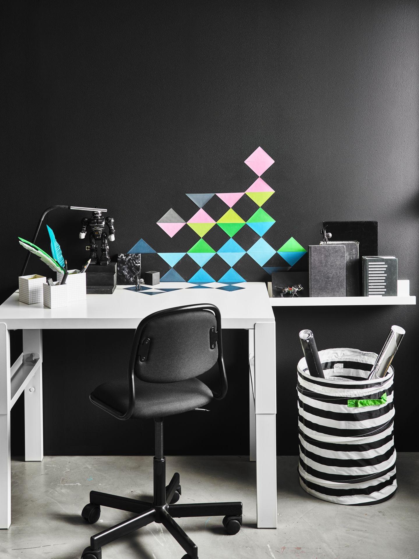p hl schreibtisch wei gr n ikea deutschland schreibtische und ikea. Black Bedroom Furniture Sets. Home Design Ideas