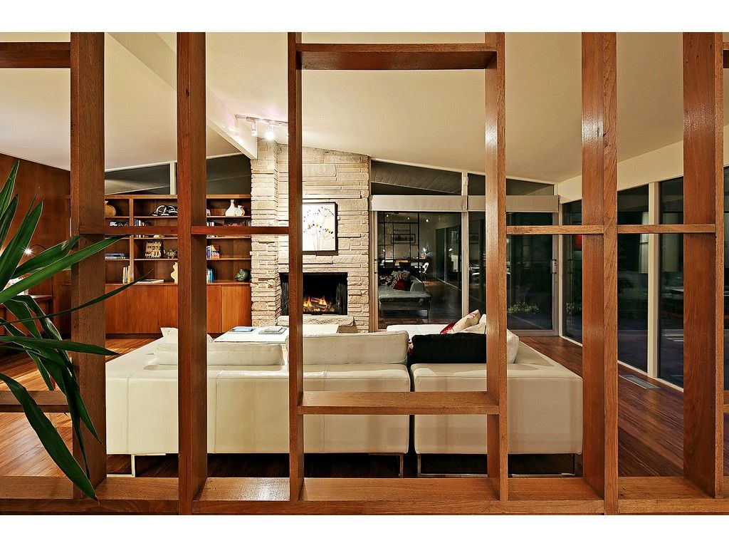 Mid Century Modern Interior Doors mid century wood room divider screens images - google search