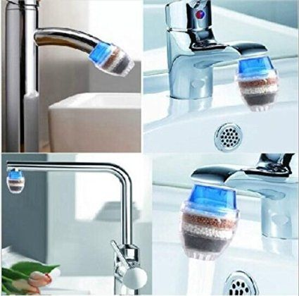 Drhob 1pc Household Home Coconut Carbon Cartridge Faucet Tap Water Clean Purifier Filter Multicolor Random 2016 Amazo Best Faucet Water Filter Water Purifier