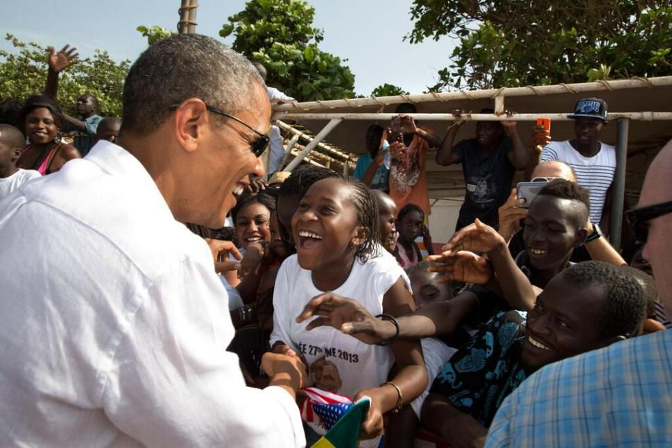 @dougmillsnyt **** @PeteSouza **** The images from Senegal today are simply stunning, more in a while