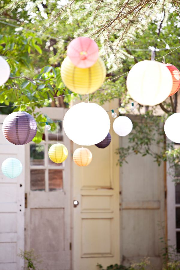 Backyard Party Decor Photo By Brooke Beasley