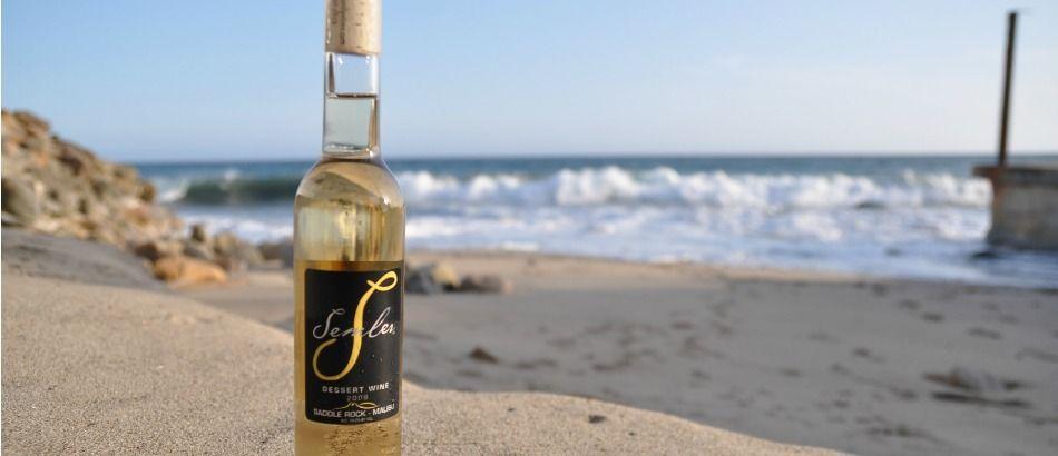 Wine. wine. wine. Malibu Family Wines - Wine on the beach!