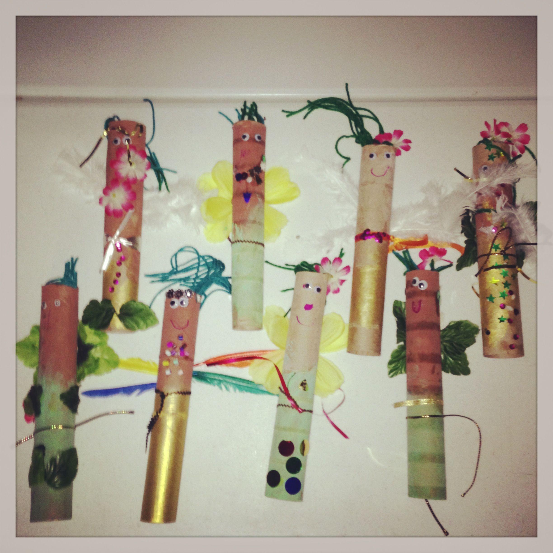 Garden Fairies Craft For Preschoolers.