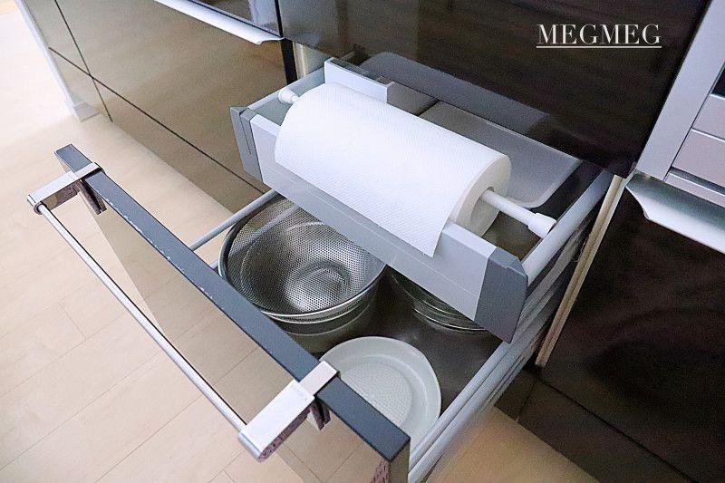 メグメグの好奇心 シンプルな収納とインテリア キッチンペーパー 収納 収納 インテリア 収納