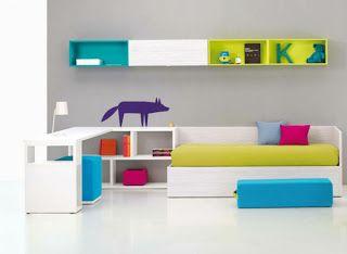 Dormitorios minimalistas para niños