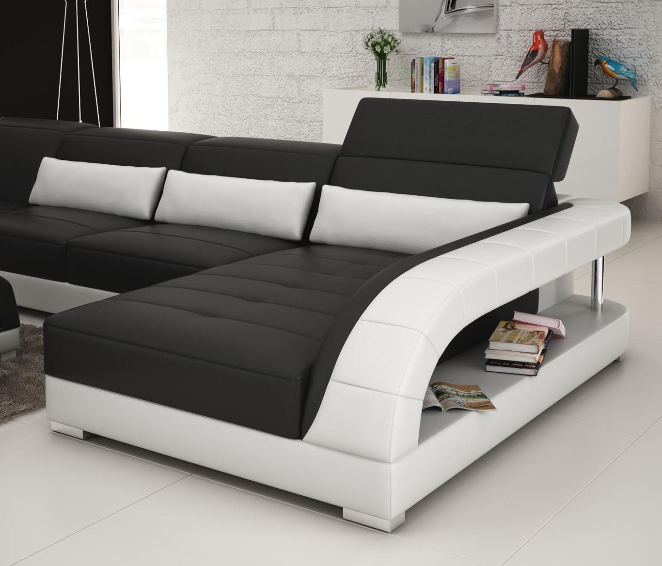 Viper Sectional Sofa From Opulent Items Ihso03125 Interio