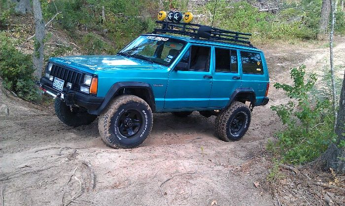 This Has Always Been My Favorite Color For A Jeep Cherokee Jeep Cherokee Xj Jeep Xj Jeep Cherokee