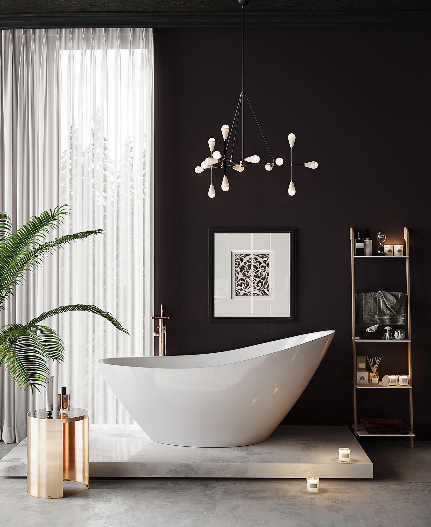 Black And White Bathroom Wall Decor Ideas
