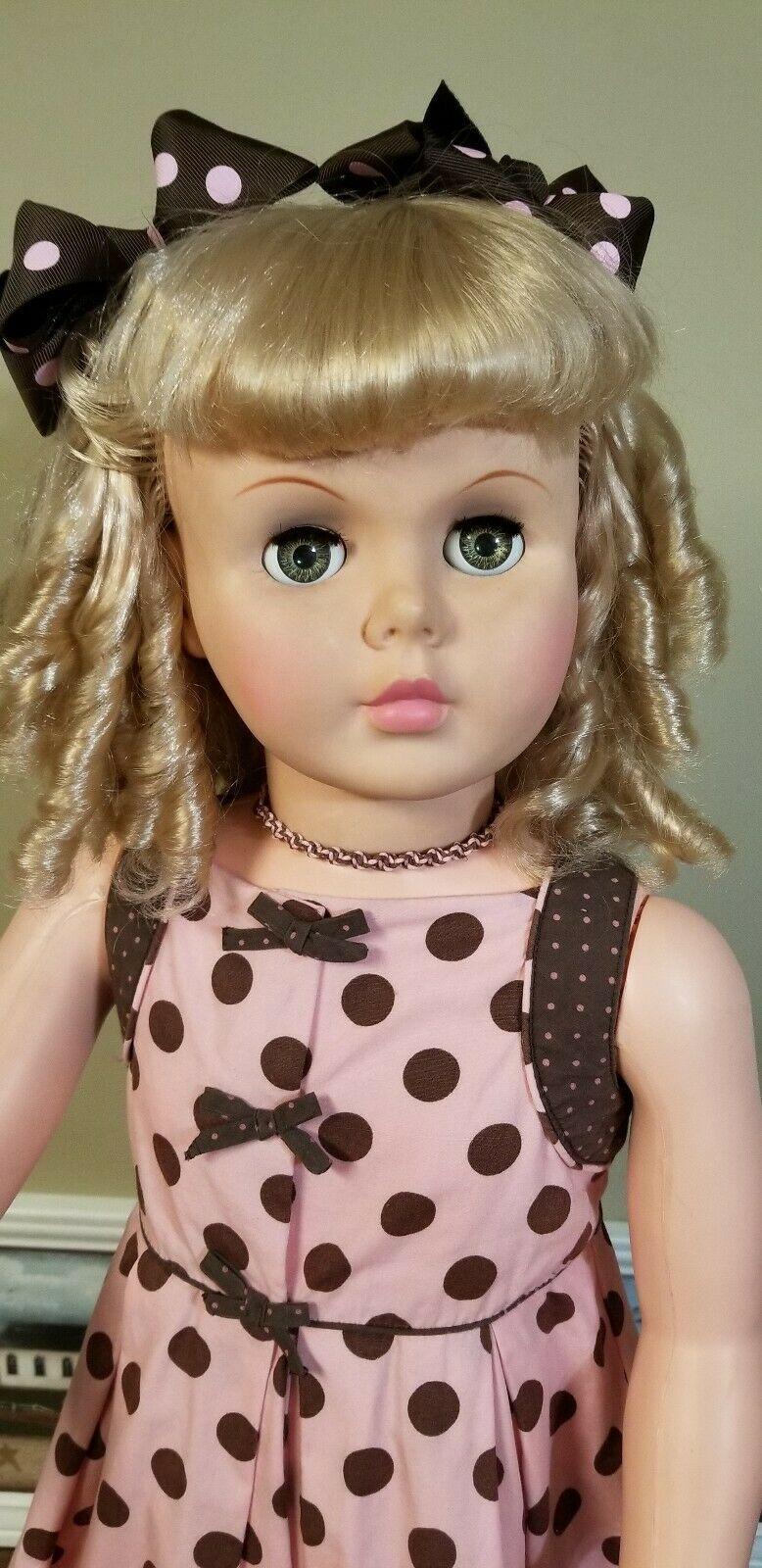 1960 S 36 A E Patti Playpal Companion Blonde Curly Hair Ebay