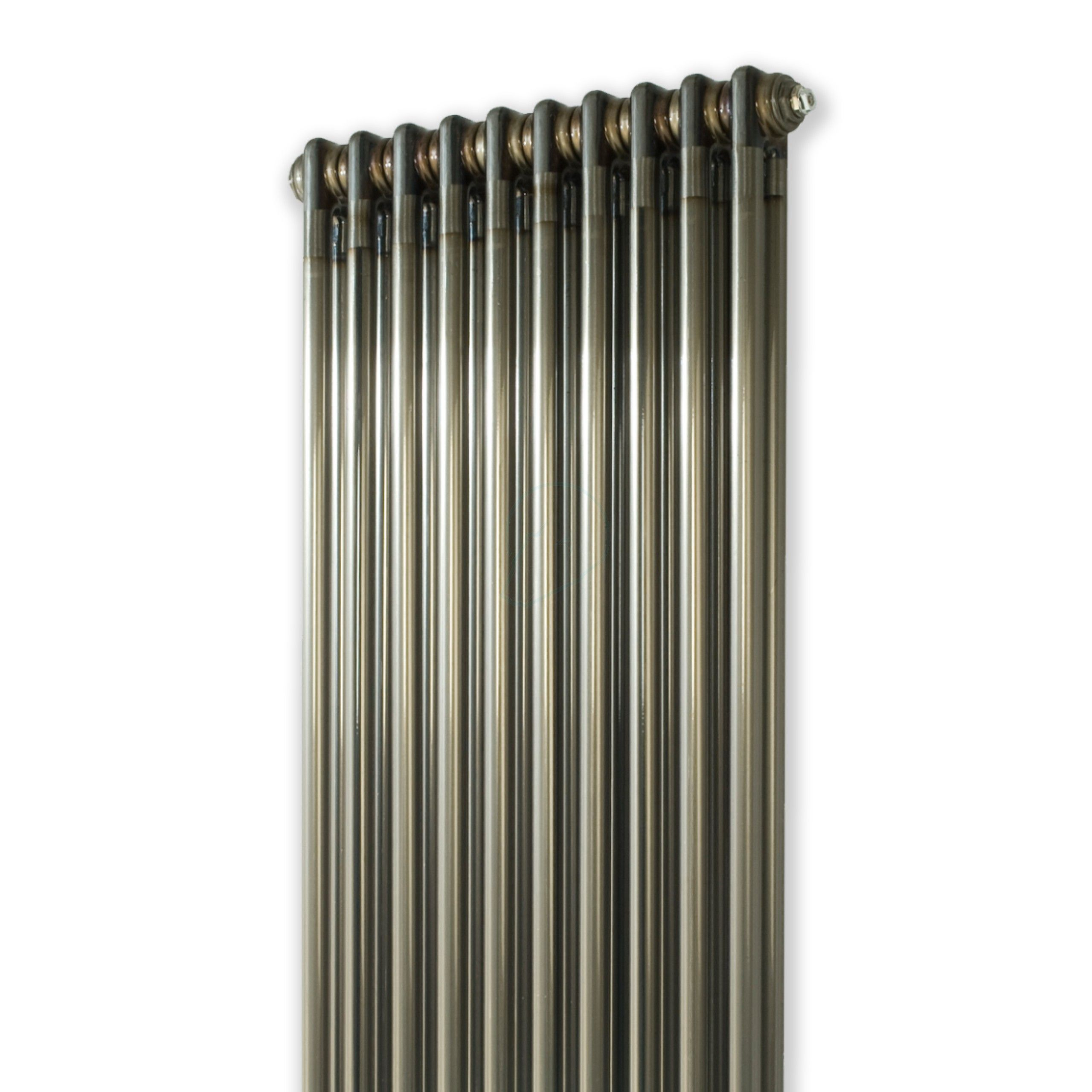 2000H x 490W 2 Column Vertical Raw Metal Lacquered Radiator