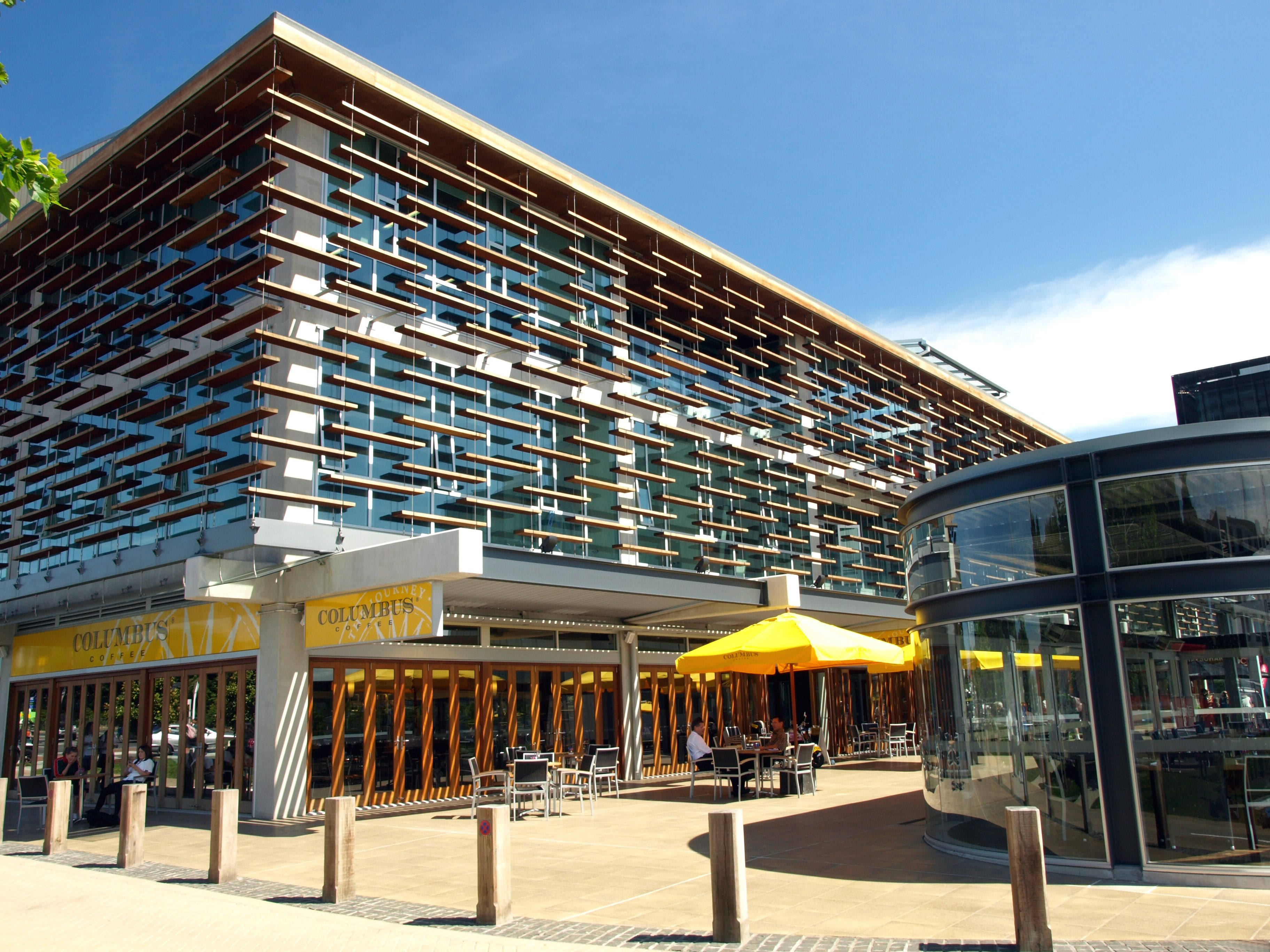 facade louver system - ronstan tensile architecture   work