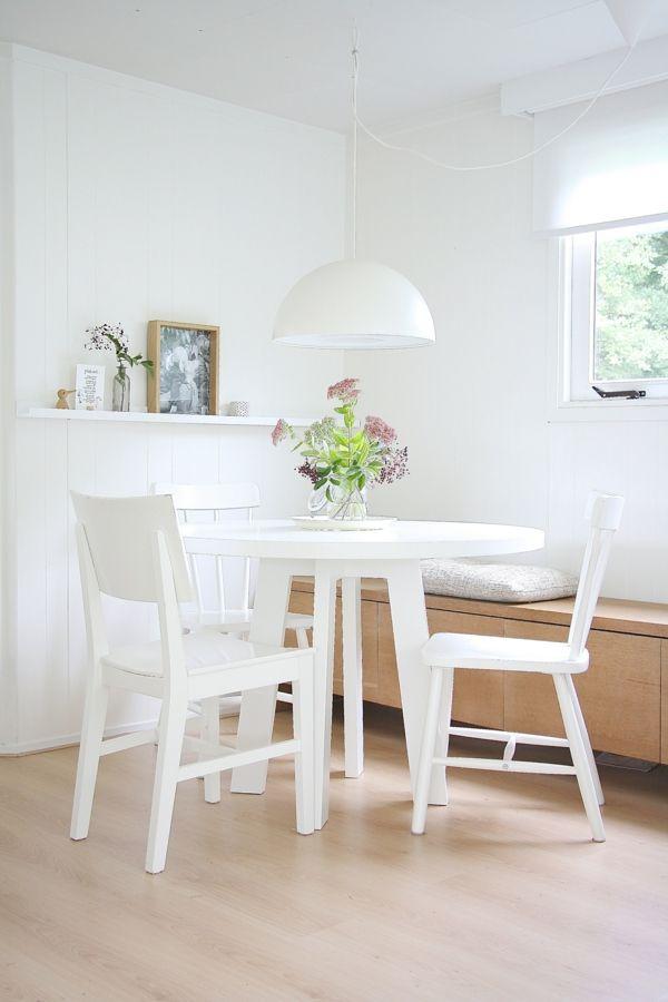Tisch Skandinavisch esszimmer einrichtungsideen skandinavisch einrichten runder tisch