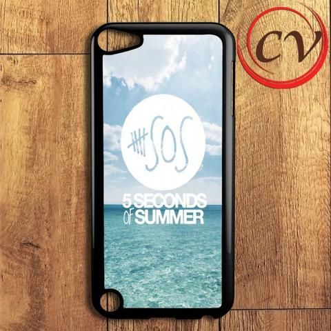 5 Second Of Summer Blue Sea iPod 5 Case