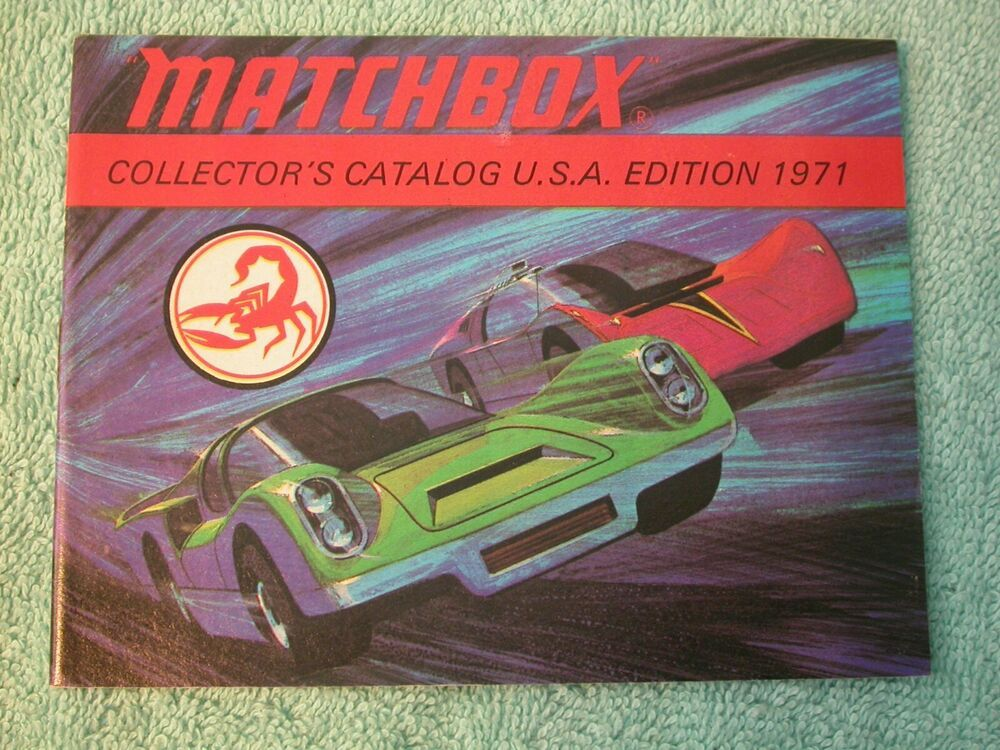 Vintage Matchbox 1971 Collectors Catalogue USA Edition 48