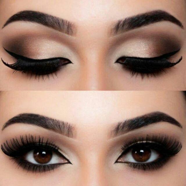 Photo of smokey eye make up,bronz eye make up,  #Eye #Forbronzeeye #Smokey #upbronz