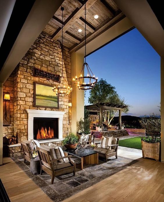 Very Impressive Outdoor Space By @Toll Brothers