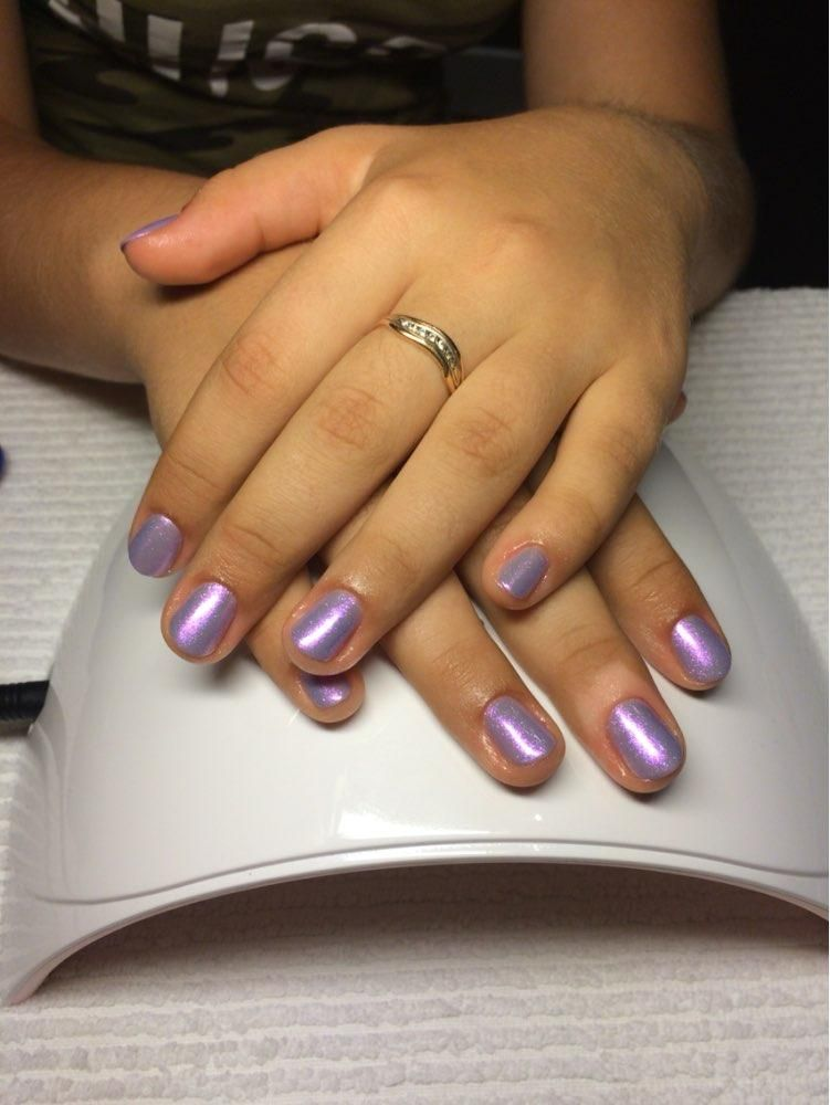 Chameleon Mirror Nail Glitters Easy Simple Nail Color Designs For ...
