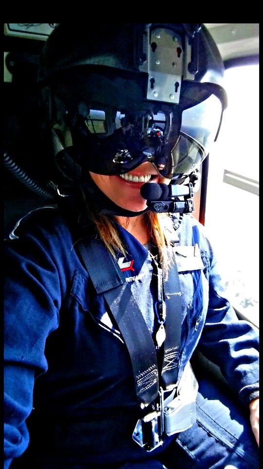 Me At Work At Air Evac Lifeteam As A Flight Paramedic Stephanie