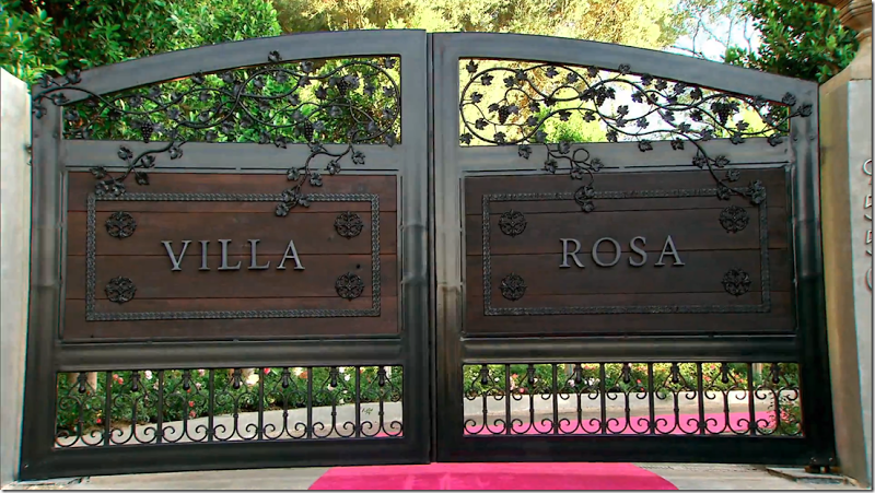 Here are the new wood and iron gates that Lisa designed and had built  Being. Here are the new wood and iron gates that Lisa designed and had