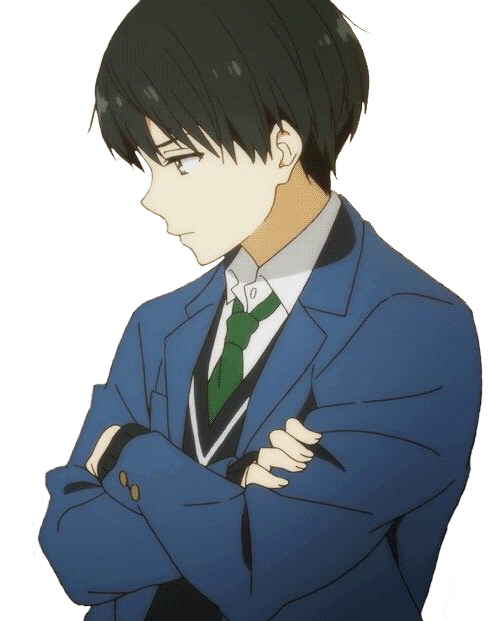 transparent hiroomi pouting on ur blog ( ω ) feel free to