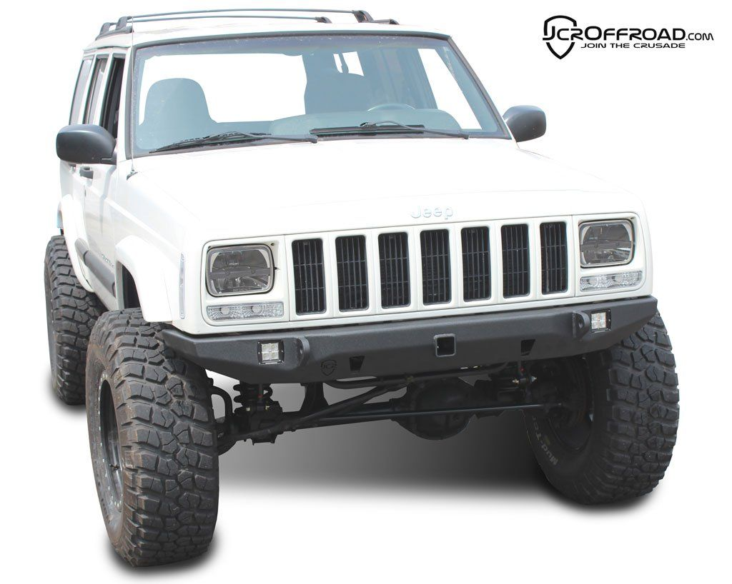Jeep Cherokee Front Bumper Crusader Jeep XJ (8401